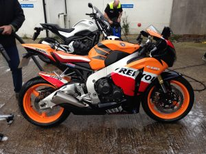Top tips for preparing for your motorcycle's MOT.